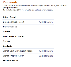 mi report template microfinance cloud how to manage and run birt reports