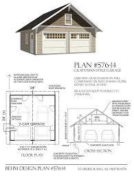 garage plan 2 car pdf garage plans d no 576 14 24 x 24 by behm designbehm