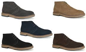 groupon s boots joseph abboud s suede chukka boots groupon