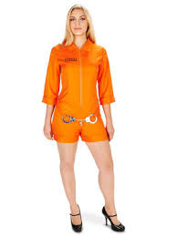Halloween Jail Costumes Mens Convicts Costumes Adults Convicts Halloween Costume Men