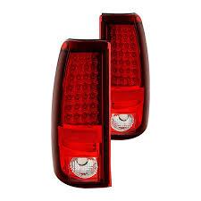 2005 chevy silverado 2500hd tail lights spyder chevy silverado 1500 2500 fleetside 2003 2005 chrome red
