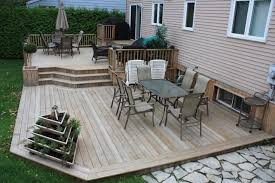 Patios And Decks Designs Patio Deck Design Contemporary Deck Montreal Patio 2 Tier Deck
