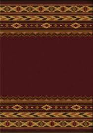 Burgundy Area Rugs American Dakota Rugs Superstore Southwestern Area Rugs Made In