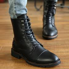 zip up boots for men fashion boots