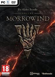 the elder scrolls online morrowind steelbook case no game