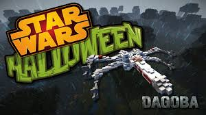 star wars halloween dagobah youtube