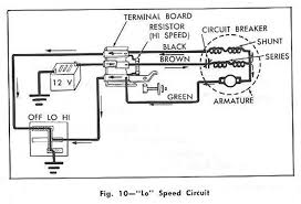 lo speed windshield wiper circuit diagram for the 1961 chevrolet