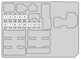 toyota hilux an10 an20 an30 2011 u2013 2013 u2013 fuse box diagram
