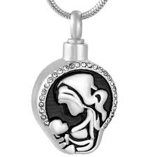 jewelry to hold ashes ijd9773 child cremation necklace hold ashes keepsake
