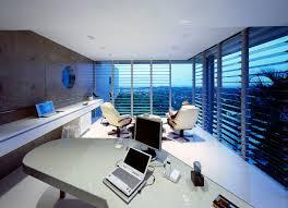 panorama house ultramodern minimal monolithic white interiors