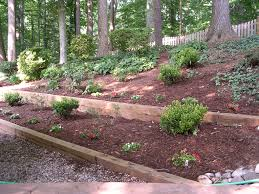 Pictures Of Retaining Wall Ideas by Incredible Ideas Landscape Timbers Retaining Wall Terrific Timber