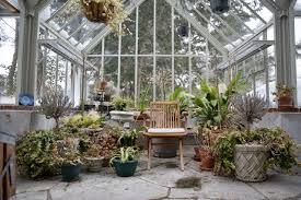 interior photo of vintage home greenhouse vintage conservatory