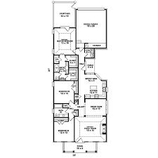 narrow house floor plans floor plans for narrow lots