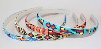 beaded headband navajo beaded headband american beadwork for sale