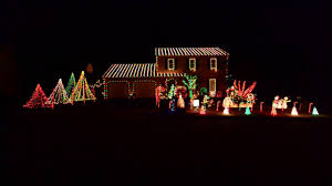 Christmas Decoration Lights 2016 Christmas Lights Thunderstruck Ac Dc Youtube