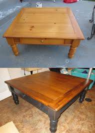 Refinishing Coffee Table Ideas by Crafting In The Land Of Diapers And Naps Coffee Table Face Lift