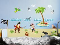 piratenzimmer wandgestaltung kinderzimmer piratwandgestaltung ziakia