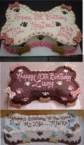 petcraftstore com puppy pawty cake bone shaped in pink for the