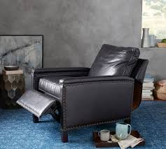 tyler leather recliner pottery barn