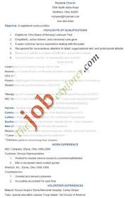 Nursing Objectives In Resume Reference Page For Resume Nursing Http Www Resumecareer Info