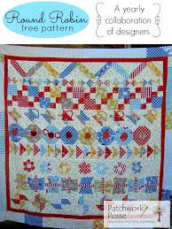 quilt pattern round and round round robin 3 free quilt pattern