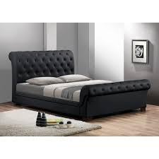 Black Sleigh Bed Full Size Sleigh Bed For Your Bedroom Designtilestone Com