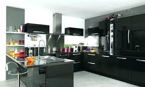 cuisine noir laqué pas cher awesome cuisine noir laque images design trends 2017 shopmakers us