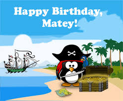 pirate penguin birthday free funny birthday wishes ecards 123