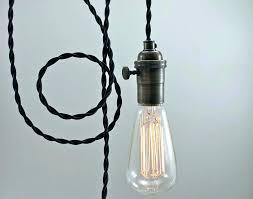 plug in hanging light fixtures plug in pendant light xpoffice info