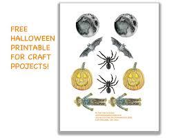 Halloween Printable Craft Free Halloween Watercolor Clipart And Tutorial U2014 Pam Ash Designs