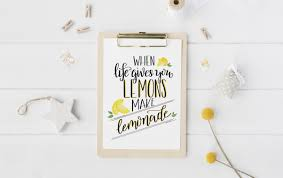 Learn How To Diy A by Hand Lettered Lemonade Printable U0026 Learn How To Hand Letter