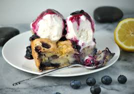 vegan lemon blueberry zucchini bread pudding eat drink shrink
