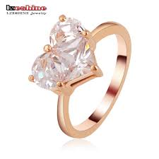 married ring aliexpress buy lzeshine brand bijoux married ring real