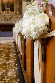 pew decorations pew flowers for weddings unique wedding pew decorations with pics