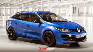 renault dezir blue x tomi design renault megane estate r s car pinterest