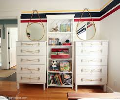 ikea tarva dresser hack nautical style dresser with dock cleat