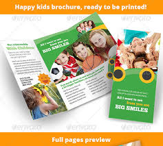 play school brochure templates 21 kindergarten brochure templates free psd eps ai indesign