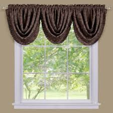 Bed Bath And Beyond Window Valances Buy Brown Valances Window Treatments From Bed Bath U0026 Beyond