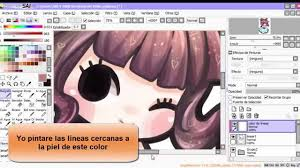 tutorial como cambiar el color del lineart youtube