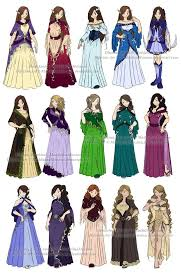 dress n clothes designs p6 different women by maddalinamocanu