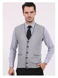 mens slim fit stylish button up cardigan wool casual