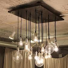Chandelier Bulb Industrial Chandelier Edison Bulb Industrial Lighting