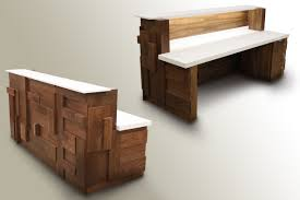 Reclaimed Wood Reception Desk Office Furniture Amazing Reclaimed Wood Office Furniture