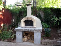 outdoor pizza oven and fireplace plan design and ideas