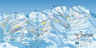 Piste Maps For Italian Ski by Three Valleys Ski Map Free Downloads