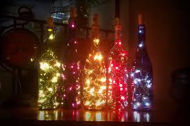 wine bottle christmas lights u2014 crafthubs