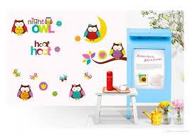 Superman Decoration Ideas by Cute Owls On Moontree Branch Wall Art Mural Decor Kids Babies
