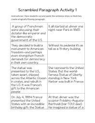 scrambled paragraphs worksheets free worksheets library download