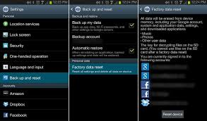 how to reset android how to reset android phone to factory settings recovery