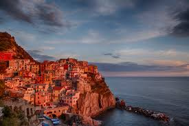Manarola Italy Map by Night Photography In Spectacular Cinque Terre John Einar Sandvand